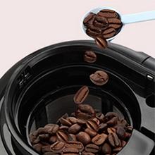 TM Electron TMPCF020R Mini cafetera de Goteo con Molinillo Grano, 4 Tazas, 600W y Filtro Lavable Compatible con café ...