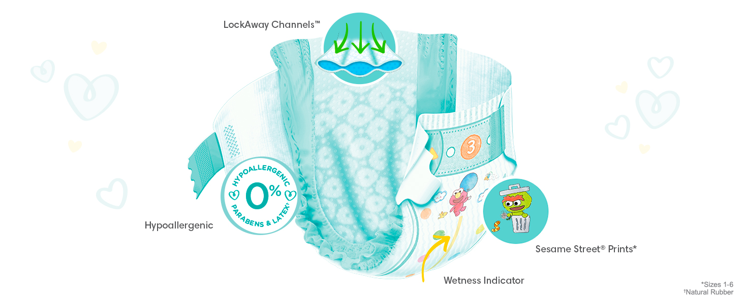 Pampers Bab-Dry Product Tour