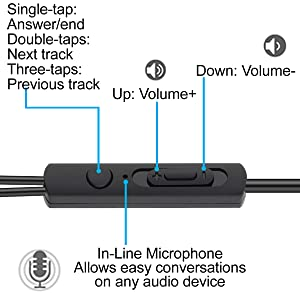 built in function volume in line microphone easy to use accessible cvc 6.0