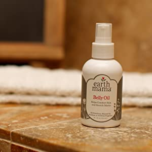 Earth Mama Belly Oil for itchy, stretching skin
