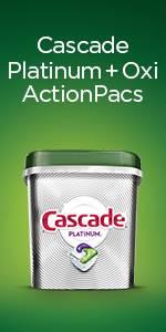 Cascade Platinum + Oxi ActionPacs