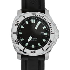 waterproof, water proof, stainless steel watch
