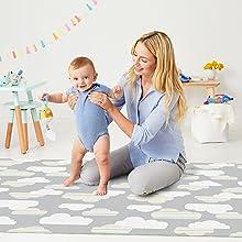 Skip hop, baby, foam mat, playtime, toys