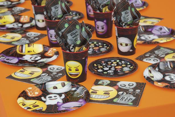 Emoji Halloween Coordinating Party Supplies by Unique