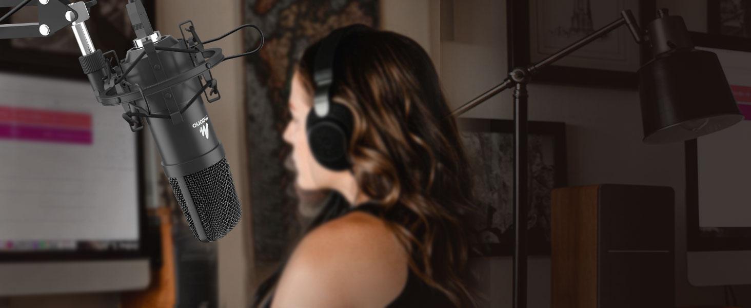 Microphone Capsules: Dia.16 mm Condenser