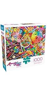 Candylicious - 1000 Piece Jigsaw Puzzle