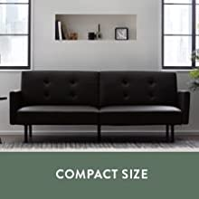 compact sofa compact couch compact futon couch for small spaces couch