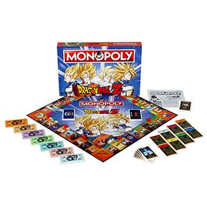 DRAGON BALL- Monopoly Z Drago Ball Juego, Multicolor (ELEVEN FORCE ...