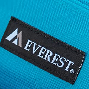 everest logo attached bag