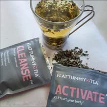 flat tummy detox tea