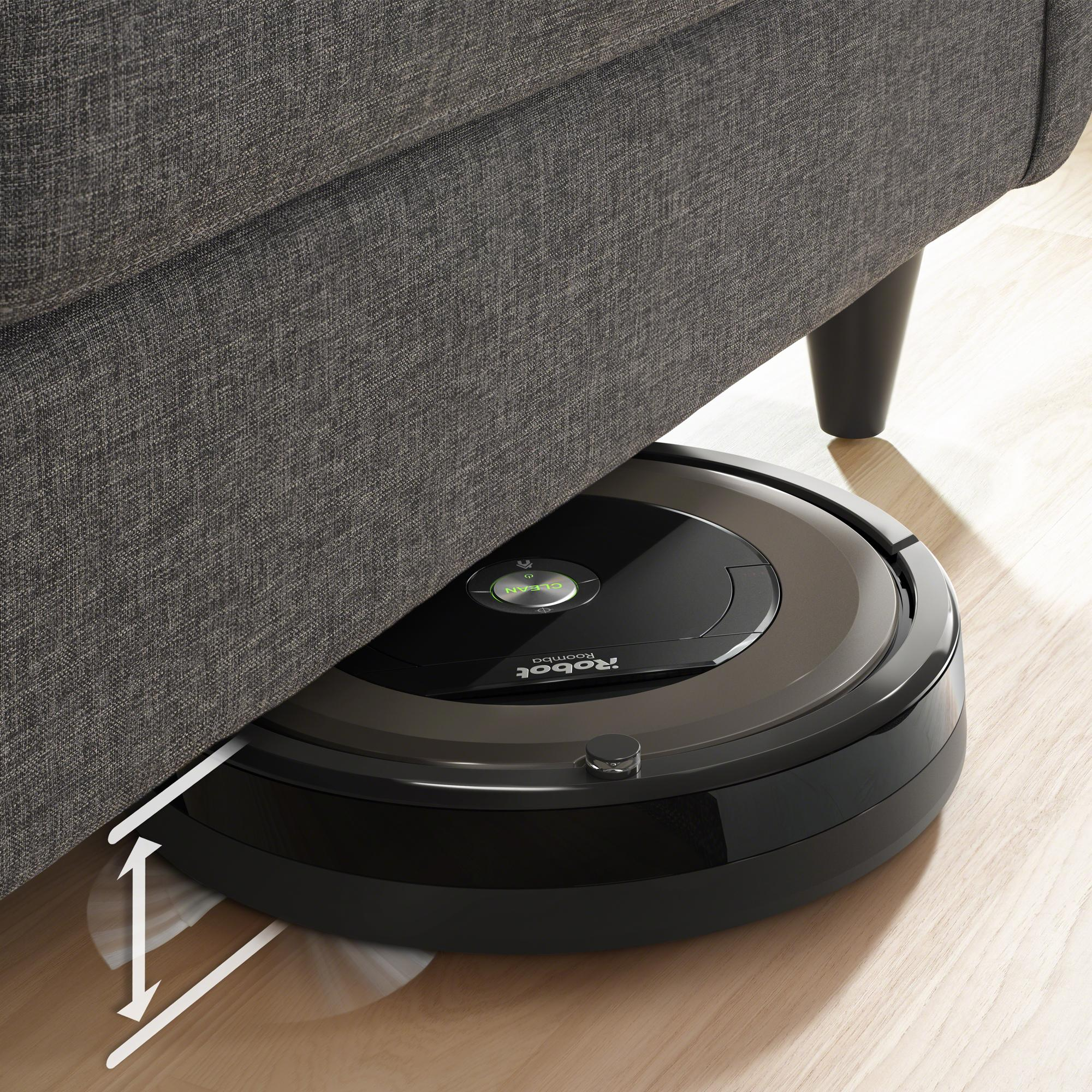 irobot roomba 890 wi fi connected robotic vacuum cleaner. Black Bedroom Furniture Sets. Home Design Ideas