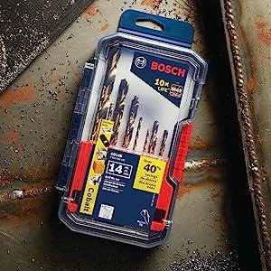 CO14B M42 Cobalt Drill Bit Set