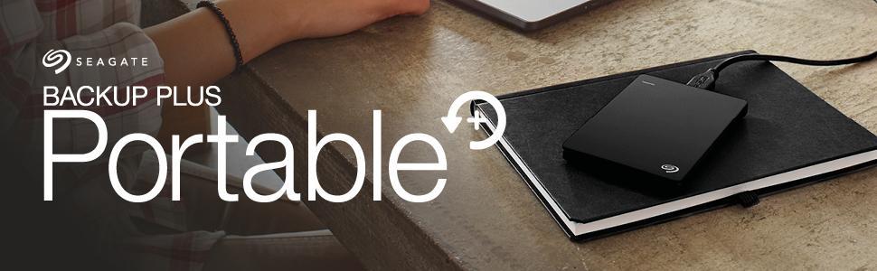 seagate backup plus portable 5 tb tragbare externe amazon. Black Bedroom Furniture Sets. Home Design Ideas