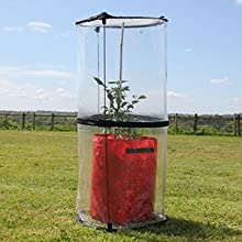 Haxnicks Kg010101 Kitchen Garden Cloche, Transparent