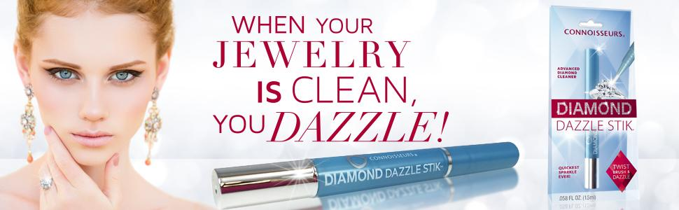 Connoisseurs Diamond Dazzle Stik Diamond Jewelry Cleaner