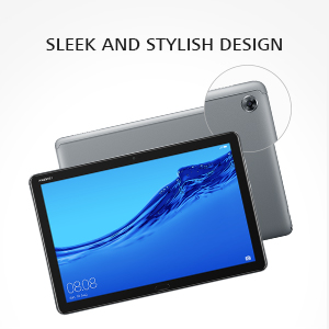 elegantly designed tablet with a metal unibody build and 2.5D curved glass edge