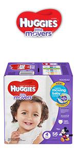 HUGGIES Little Snugglers Diapers · HUGGIES Little Movers Diapers ...
