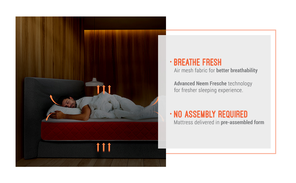 sleepwell, medium mattress, hard mattress, firm mattress, sleepx, pillow, bed