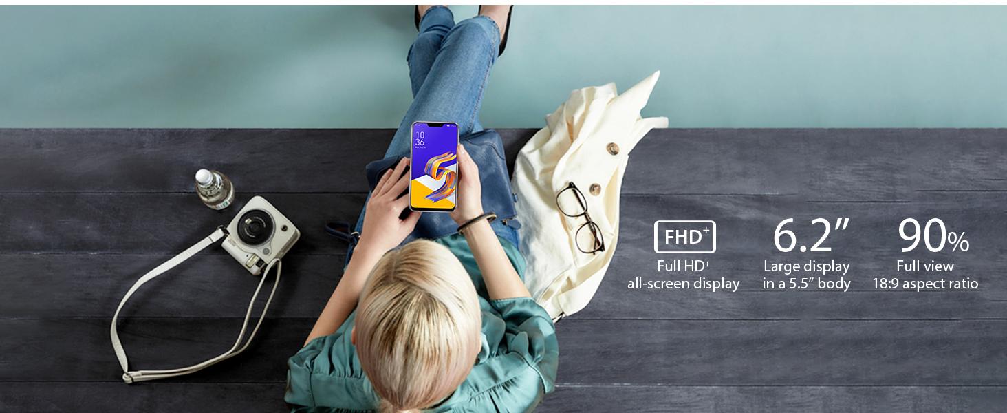 FHD+ 90% screen to body ratio