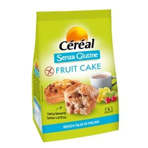 Fruit cake, dolci senza glutine, dolci senza lattosio, merendine, cake inglese, tortina glutenfree
