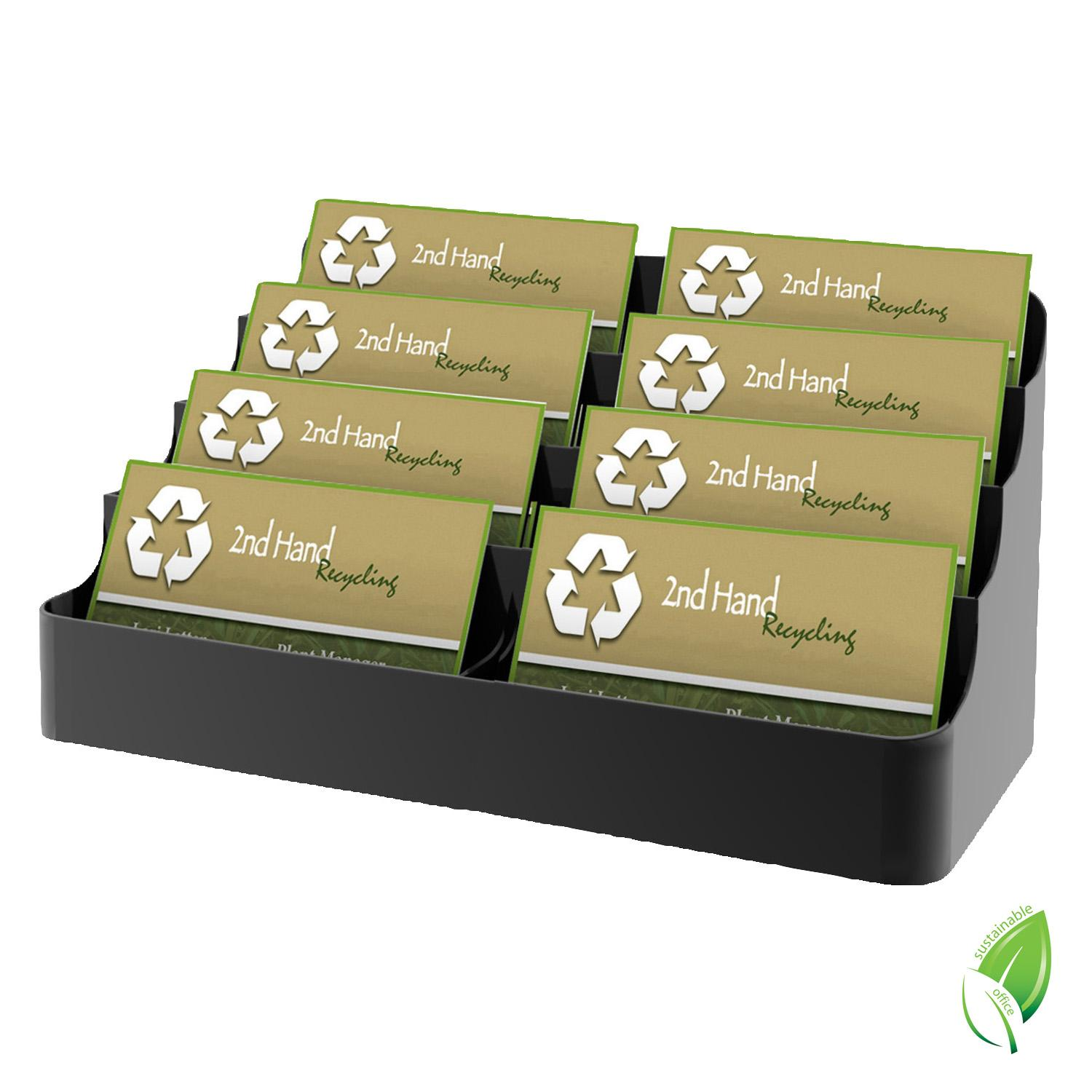 Amazon.com : Deflecto Sustainable Office Recycled Business Card ...