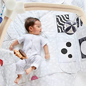 The Play Gym by Lovevery, baby activity gym, play mat, learning developmental toy, high contrast