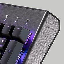 CK550 Brushed Aluminium Aluminum Gateron Gaming Keyboard Switches Cooler Master