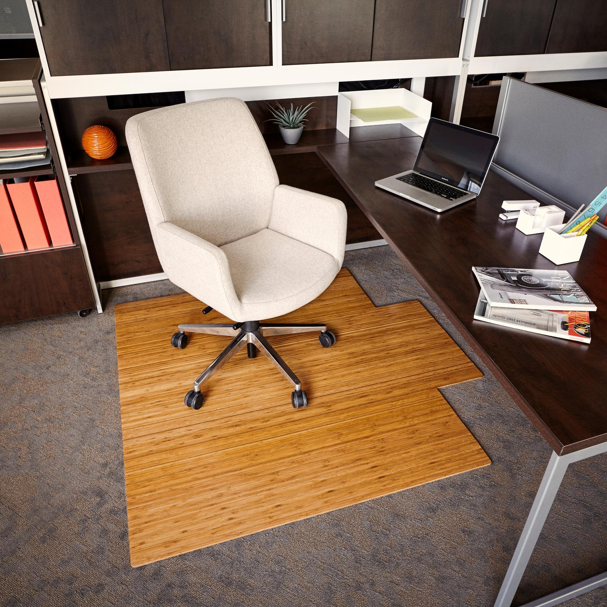 Amazon Com Anji Mountain Bamboo Roll Up Chair Mat