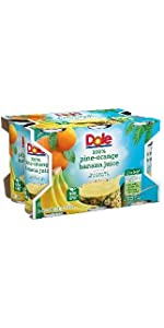Dole Juice, Pineapple Orange Banana, 6 Ounce Cans