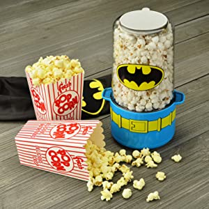 Image result for DC Batman Mini Stir Popcorn Popper