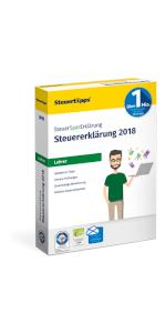 SteuerSparErklärung, Lehrer, Verpackung, 2019