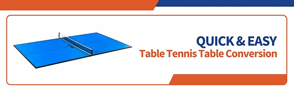 easy conversion table tennis