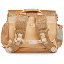 Gold Backpack; Safety Features