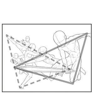ホビージャパン 技法書 パース ぱーす 人体 線画 せんが てくにっく テクニック 描き方 書きかた 鉛筆 ブラシ クリスタ 手書き HJ の ほびーじゃぱん