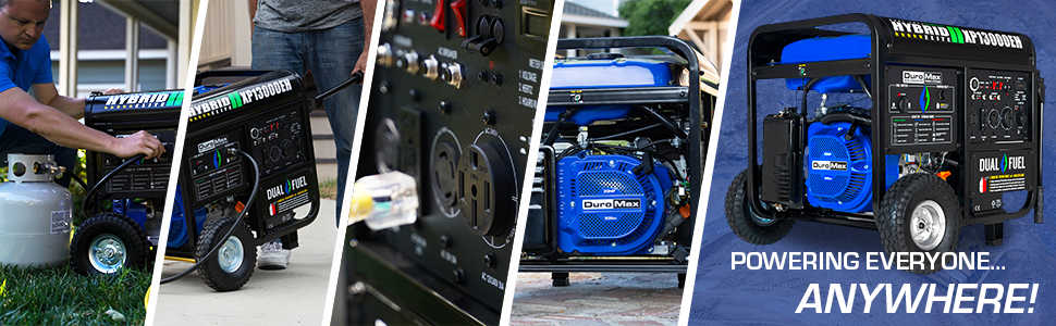 Duromax XP13000EH Home Support Durable Portable Generator