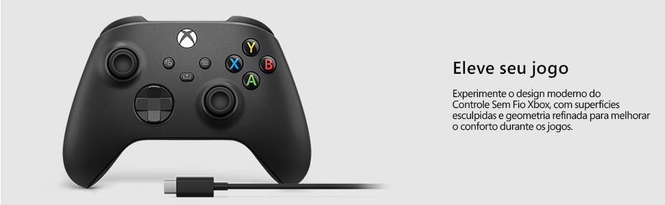 controle xbox, xbox, videogame, controle com cabo, microsoft, controle com fio, xbox series x