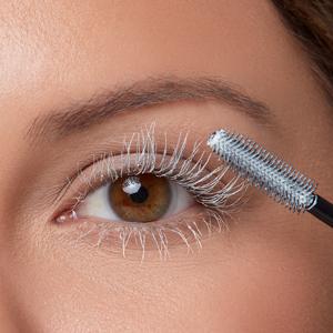 grande cosmetics grandeprimer primer prime pre mascara lengthen length thick thickener thicker white