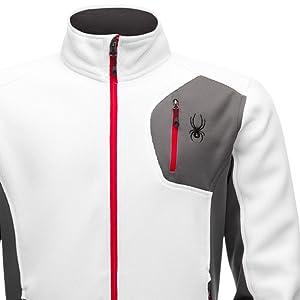 Spyder Men's Bandit Full Zip Stryke Jacket