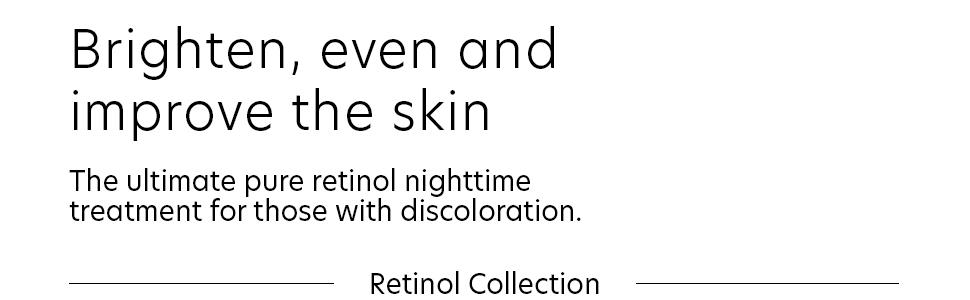 hyperpigmentation serum, retinol for discoloration, retionol for dark spots, dark spot serum