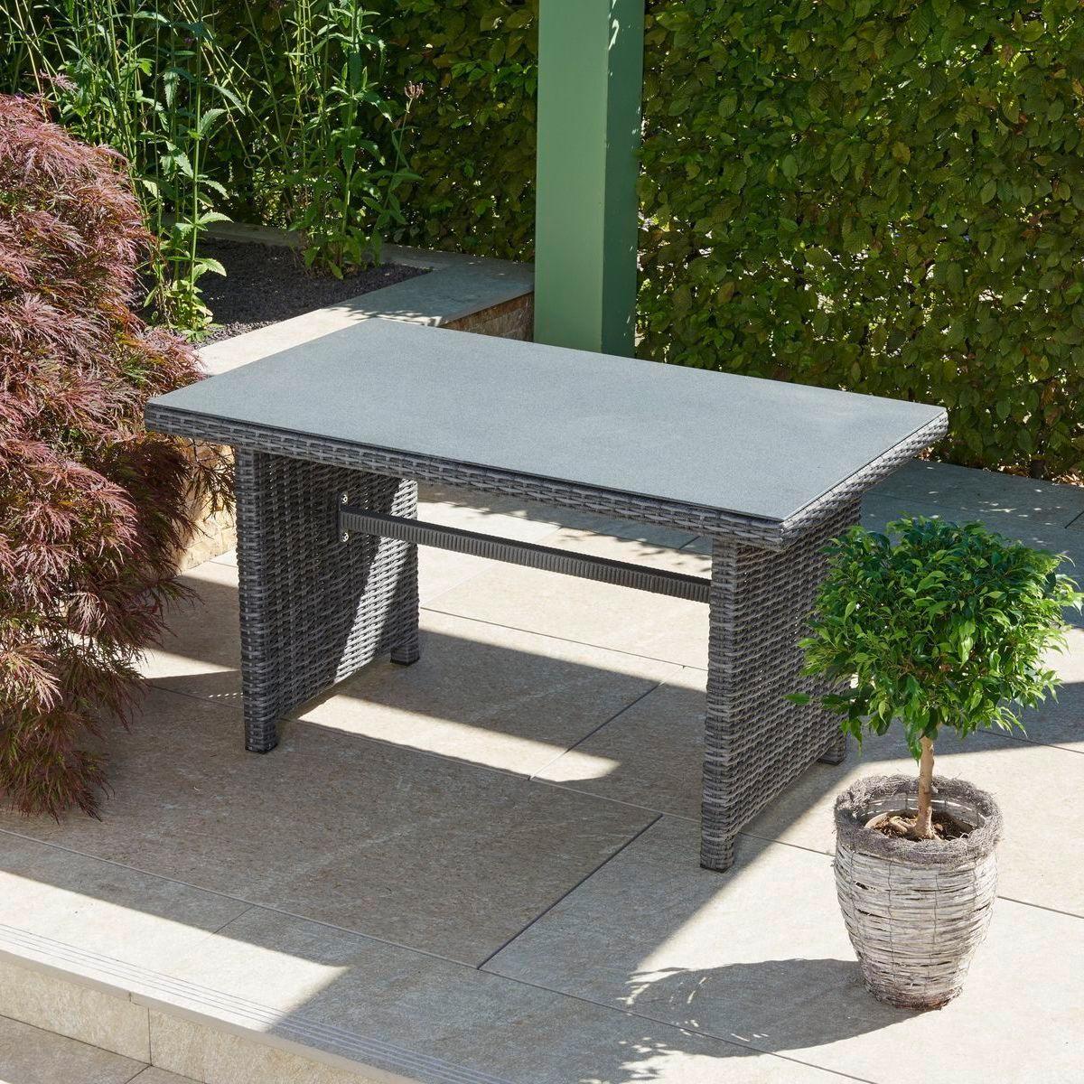 greemotion miami comfort in anthrazit design loungset polyrattan f r balkon. Black Bedroom Furniture Sets. Home Design Ideas