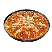 pizza molde bandeja perforado