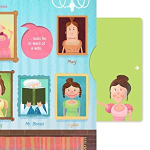 pride and prejudice, classic lit for kids, lit for kids, classics for kids, interactive books
