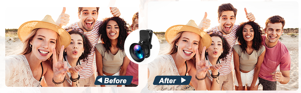 iphone camera lens kit Pro Lens Kit for iPhone, Samsung, Pixel, Macro and Wide Angle Lens
