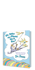 OH, BABY, THE PLACES YOU'LL GO Best new baby books newborn books new dad gifts