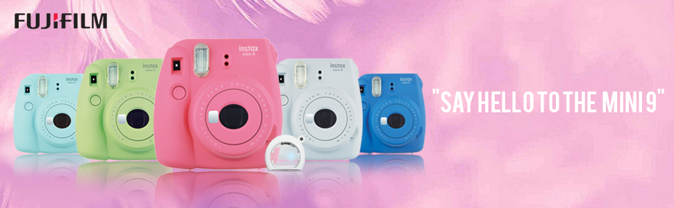 Instax mini9 instant camera Flamingo Pink
