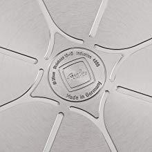 made in germany ドイツ 耐久性 アルミニウム アルミ 26cm IH対応 フライパンアルミ ステンレスフライパン ふらいぱんすてんれす ステンレス製 すてんれす 祝い スタイリッシュ