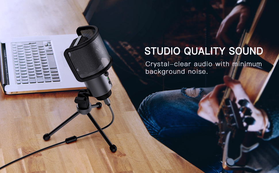 Studio Quality Sound