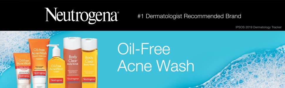 Neutrogena Oil Free Acne Wash Scrub