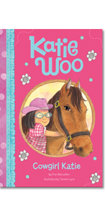 diversity chinese bossy friendship classroom inclusive children school book glasses katie cowgirl