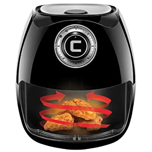 Rapid Air Technology, air cooker fryer, oiless air fryers, air fryer with basket, airfryer